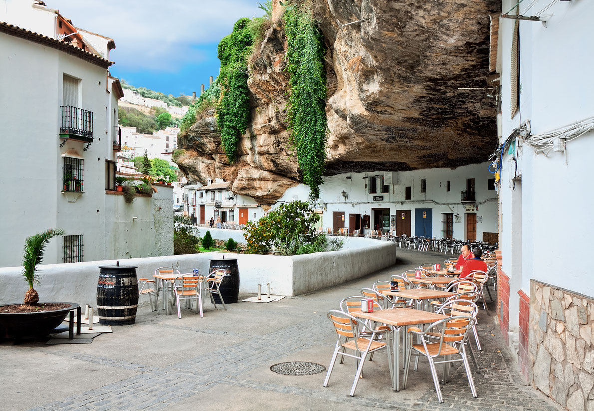 Best hidden gems in Spain - Setenil de las Bodegas copyright  Migel   - European Best Destinations