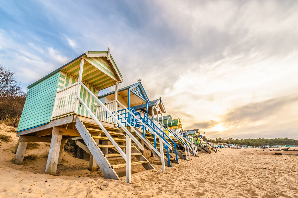 Best beach huts in Europe - wells-next-the-sea - Copyright Flickr2502 - European Best Destinations