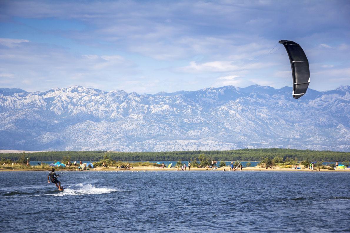 Kiteboarding Kitesurfing Extreme Sport in Nin, Croatia Copyright Ivan Smuk