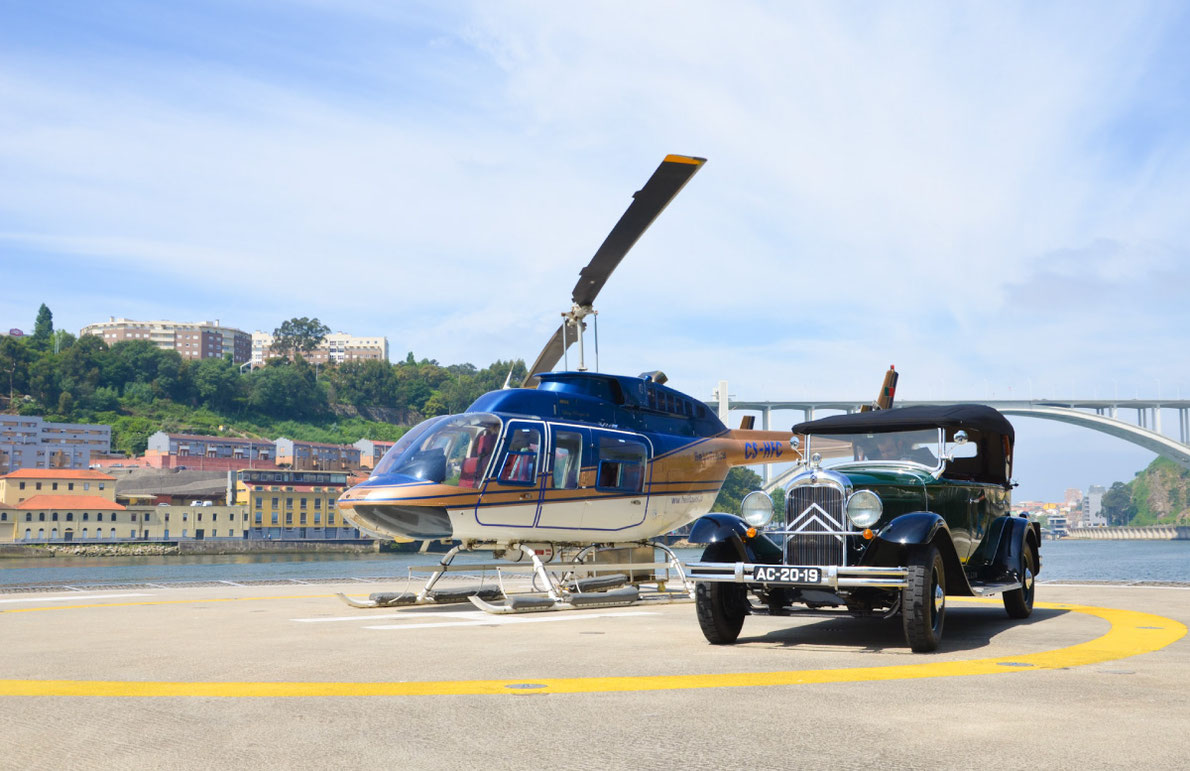 Porto Helicopter Tour  Europe39s Best Destinations