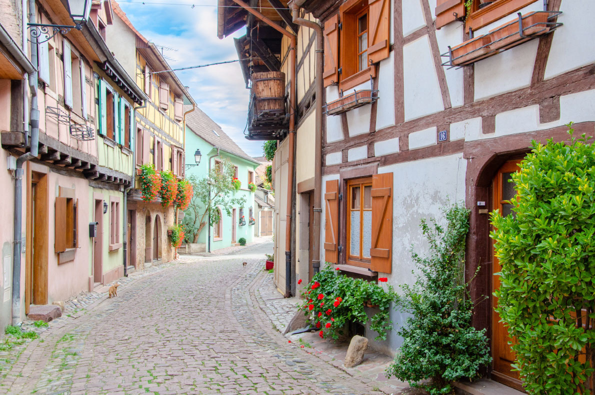 Eguisheim Best hidden gems in Europe - European Best destinations - Copyright peresanz