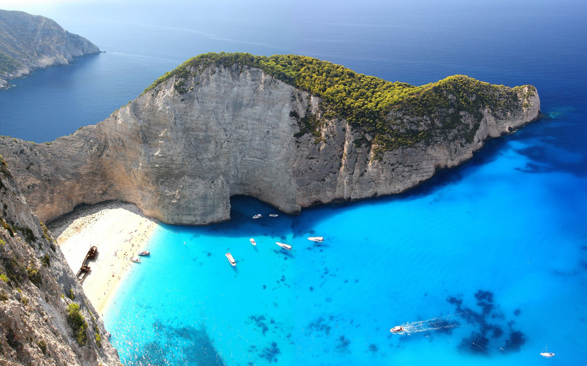 Best beaches in Europe - Navagio Beach - European Best Destinations