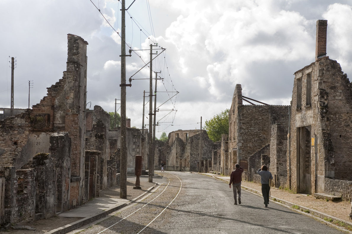 World war II destinations in Europe - Oradour-sur-Glane - Copyright KN