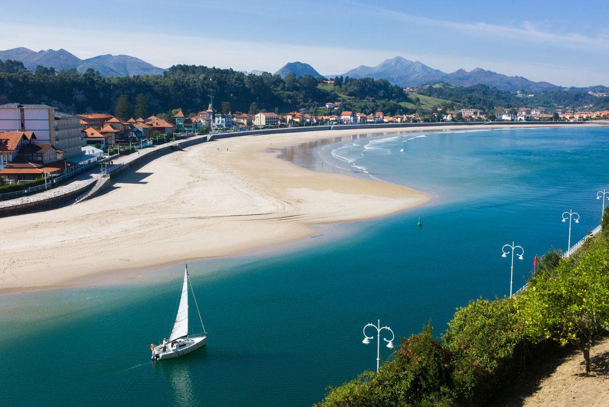 Beach of ribadesella in spain best beaches in europe