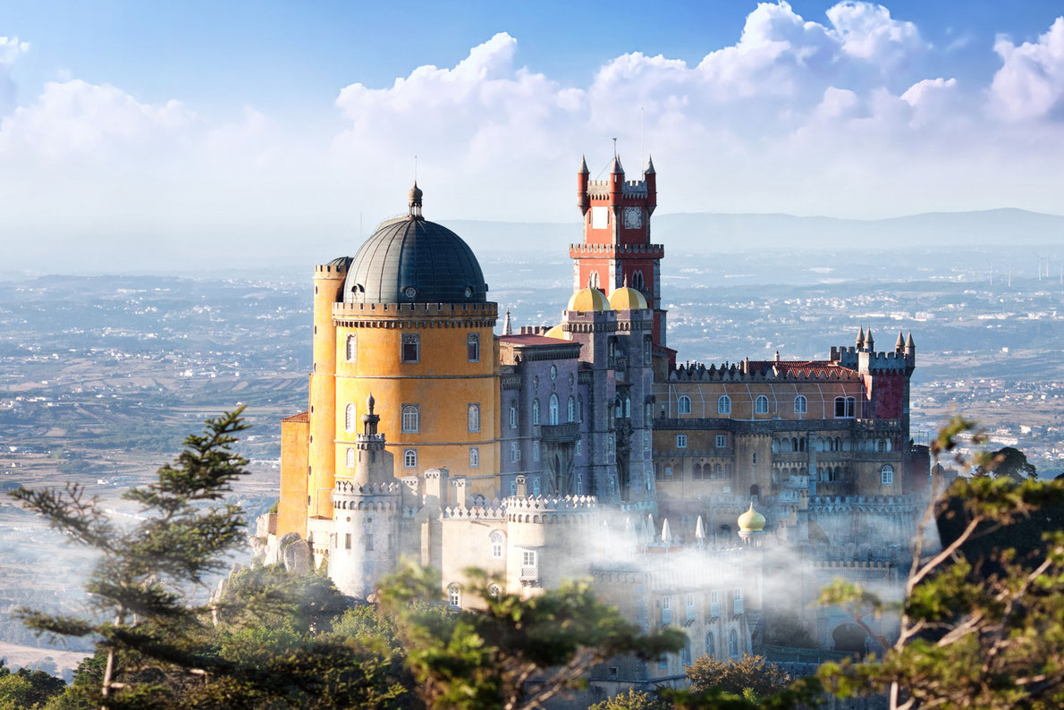Best amazing monuments in Europe - Pena Palace Sintra Copyright  Migel - European Best Destinations