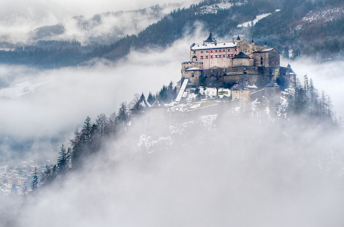 Hohenwerfen Castle - Best castles in Europe