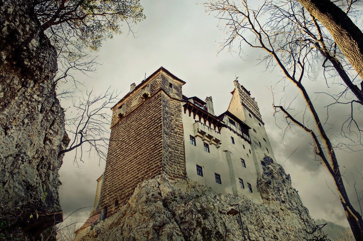 Dracula Castle Bran Castle - Best destinations for Halloween in Europe - Copyright Anton_Ivanov