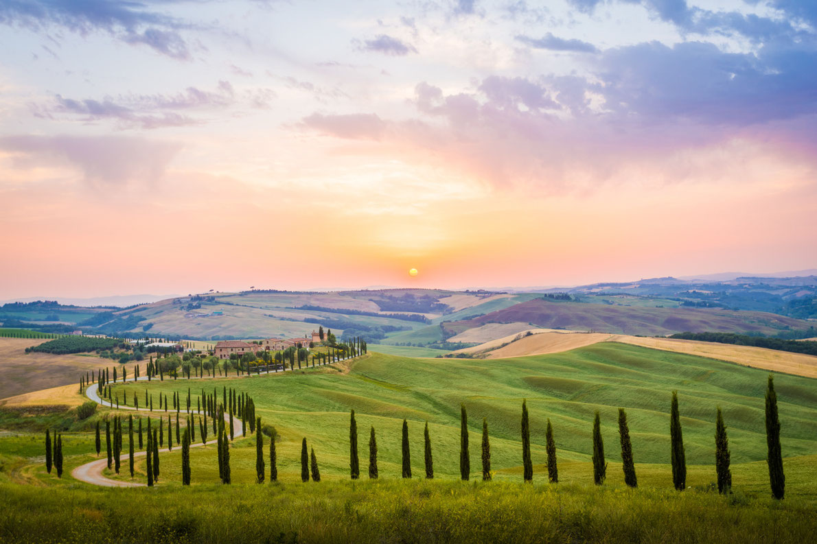 Most beaufitul landscapes in Europe - Tuscany Italy Copyright Francesco R. Iacomino - European Best Destinations