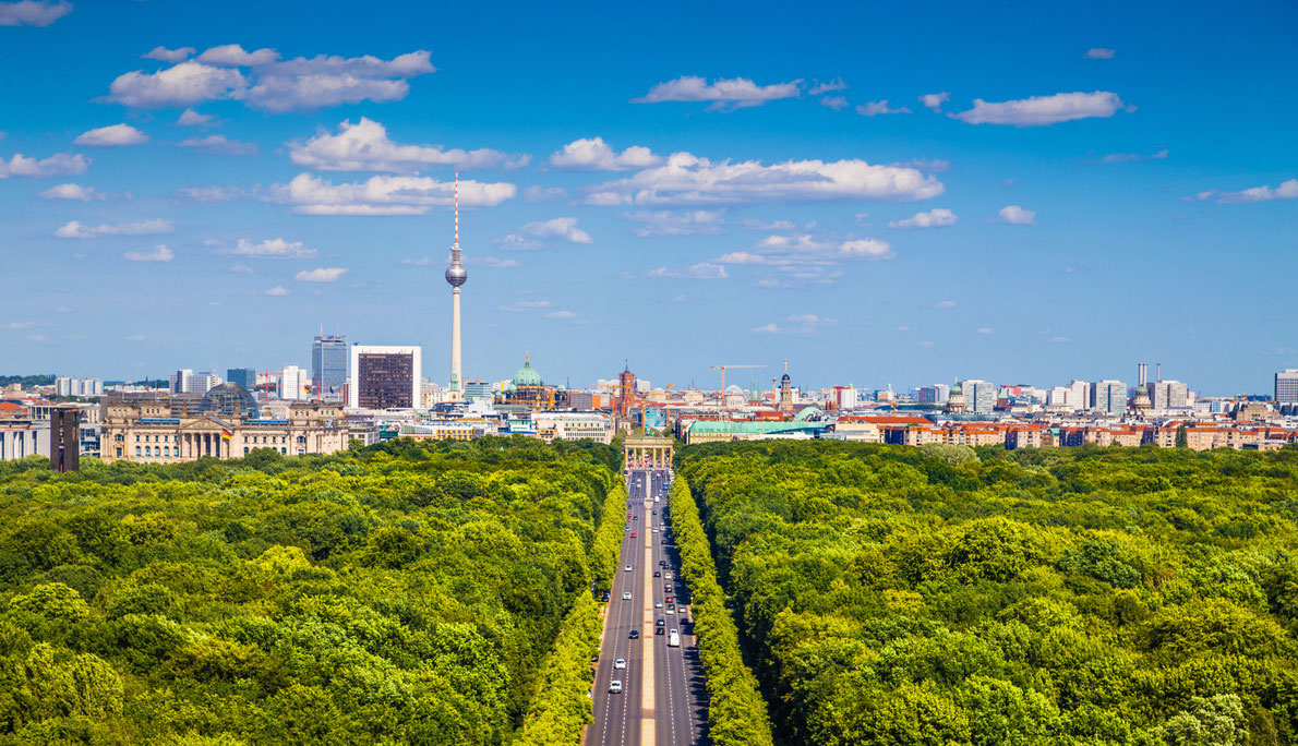 Best city parks in Europe - Tiergarten Park Berlin Copyright canadastock - European Best Destinations