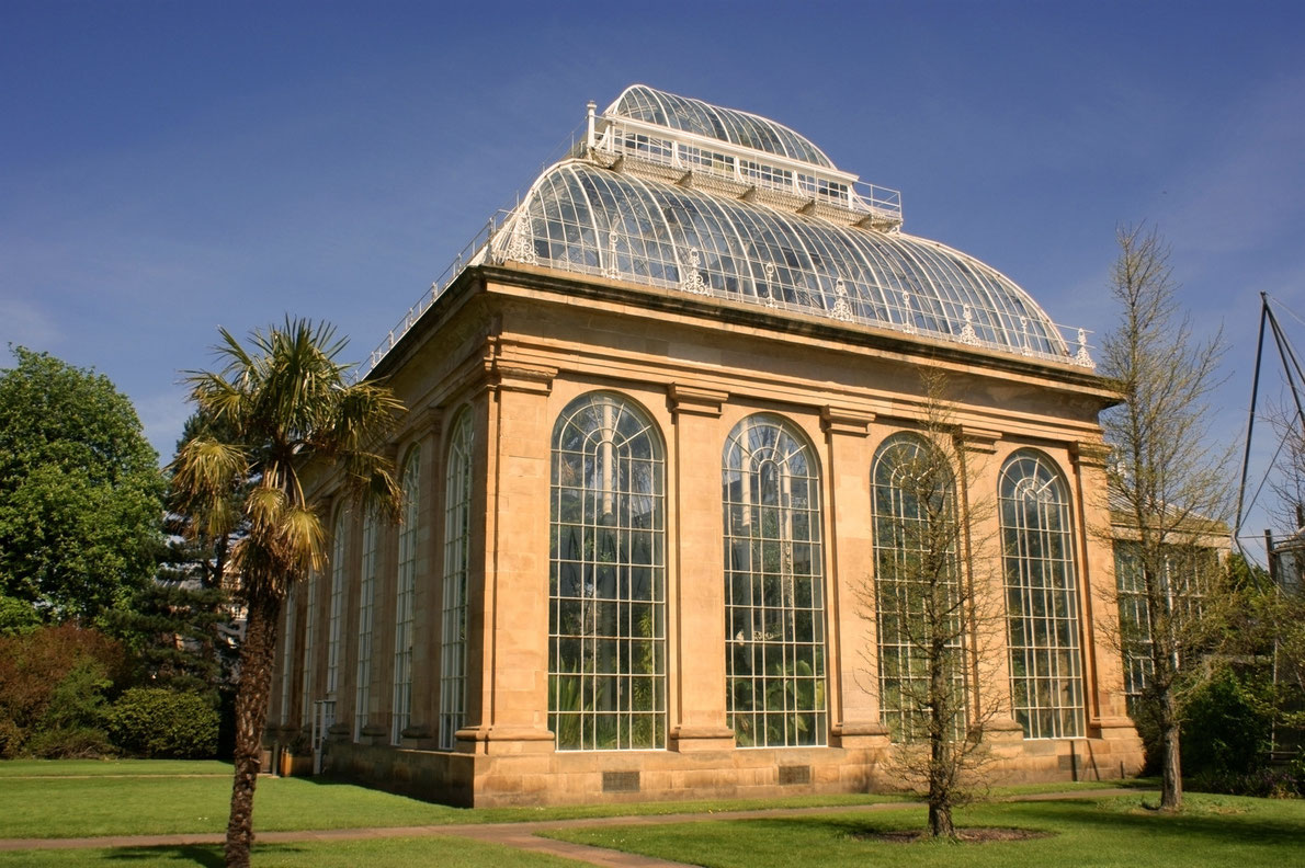 Botanical Garden Edinburgh - Best Green Houses in Europe - European Best Destinations Copyright StockCube