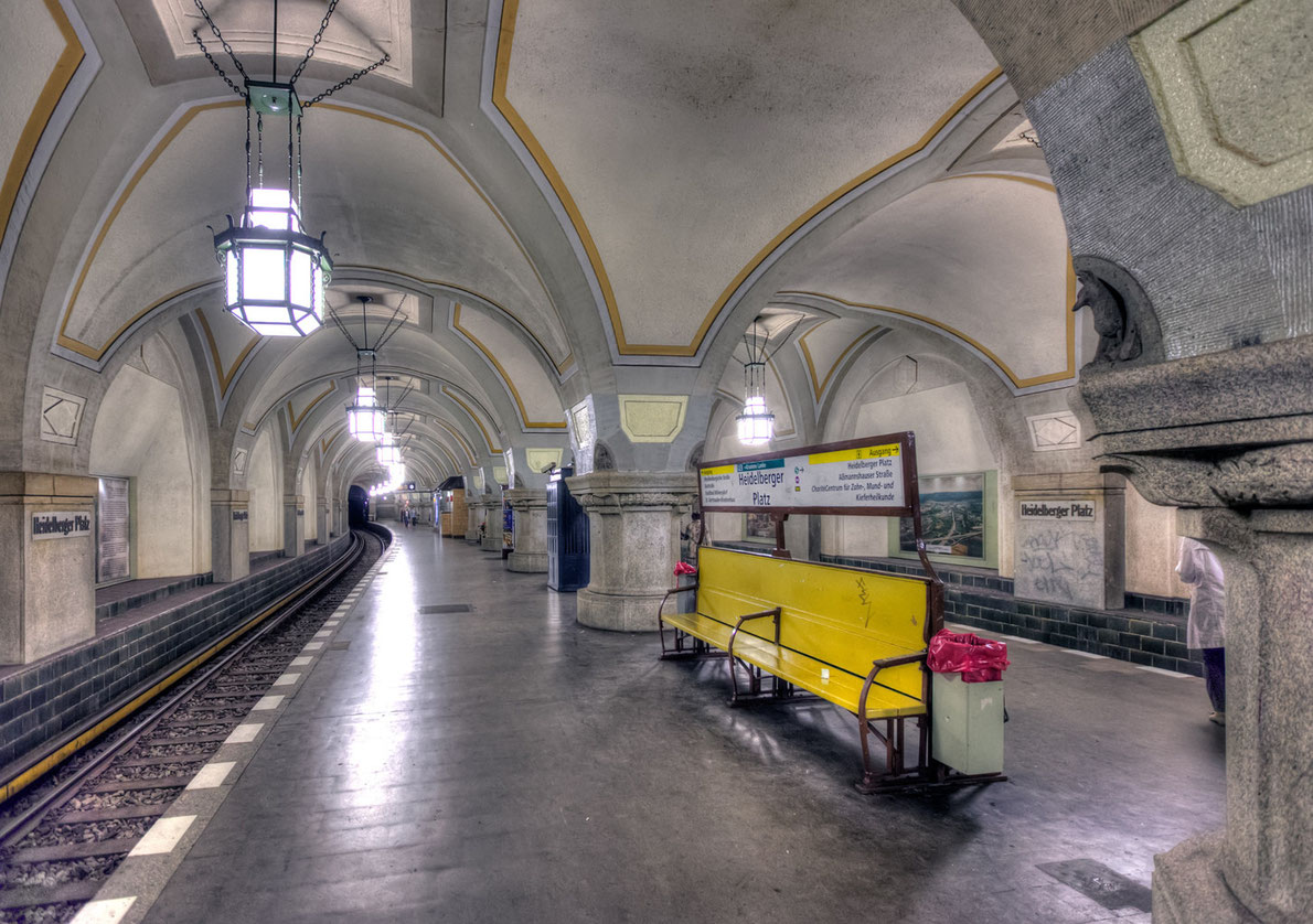 Best subway stations in Europe - Heidelberger Platz in Berlin - Copyright  Jo Chambers - European Best Destinations