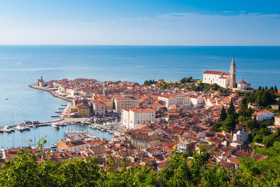Piran Romantic Destinations in Europe - Copyright Matej Kastelic - European Best Destinations