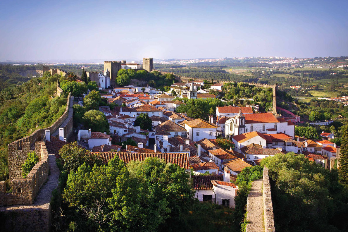 Best fortified destinations in Europe  - View of the beautiful medieval village of Obidos in the centre of Portugal Copyright Carlos Caetano - European Best Destinations
