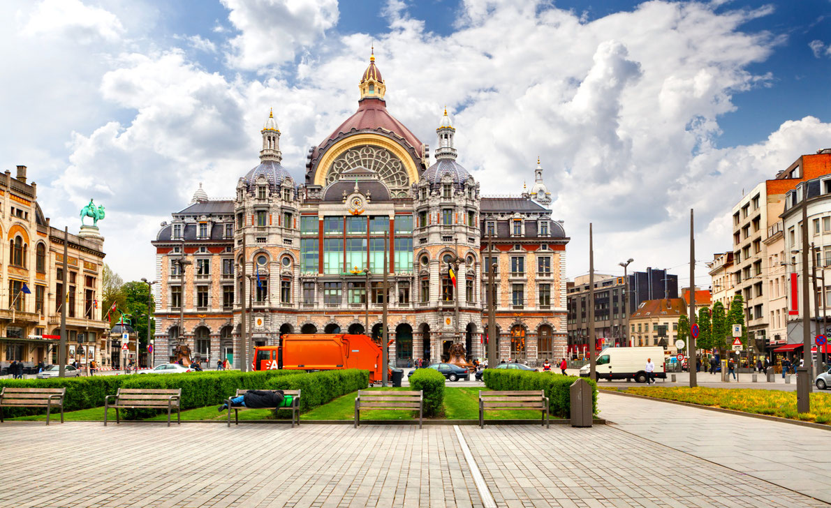 best railway stations in Europe - Antwerp central station Copyright Olgysha -  European Best Destinations