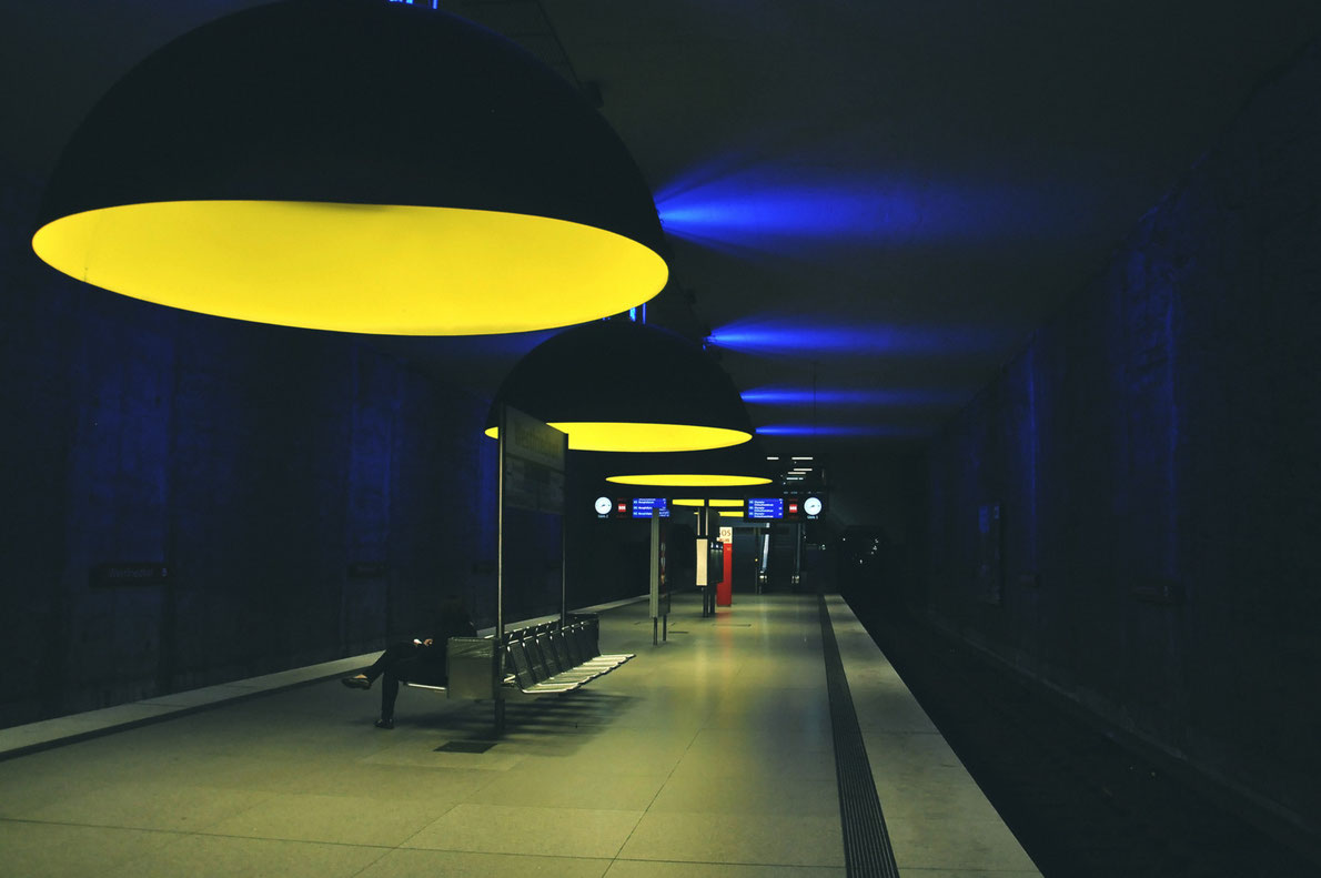 Best subway stations in Europe - Westfriedhof station - European Best Destinations -  copyright Savvapanf Photo