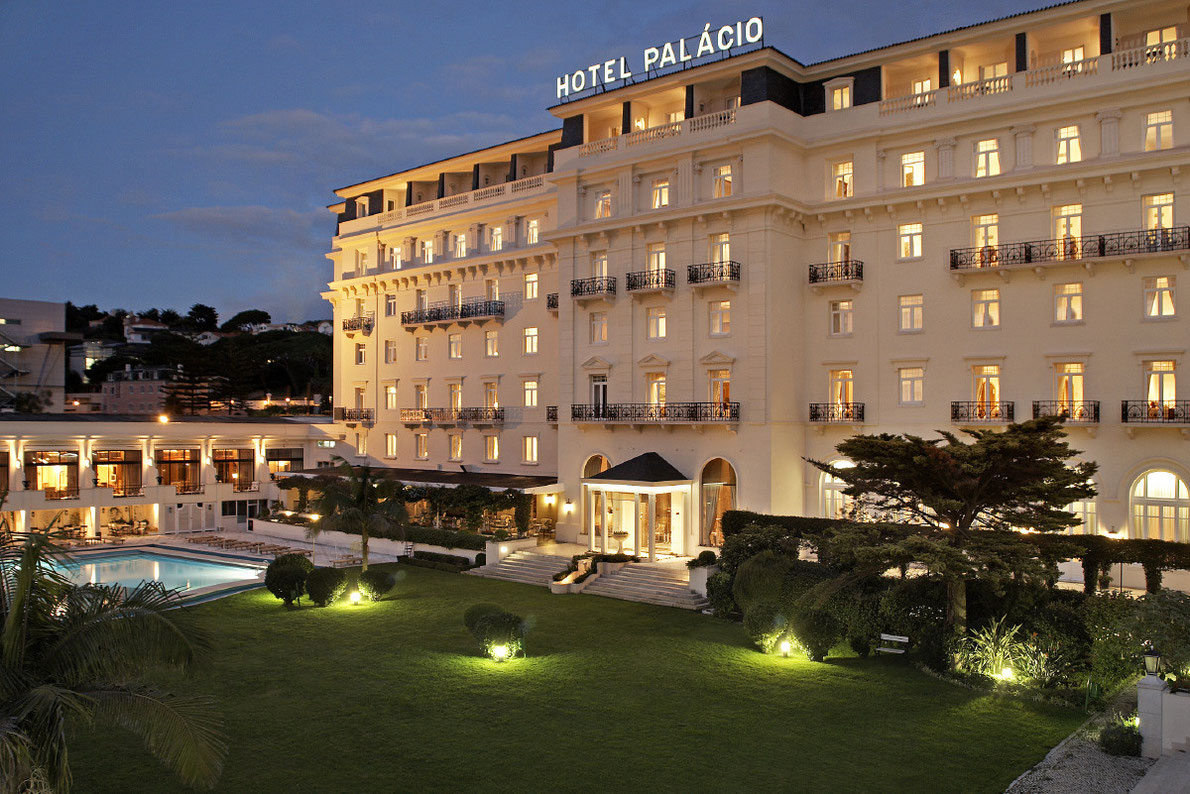 Hotel Palacio Estoril by night - Best Hotel Suites in Europe