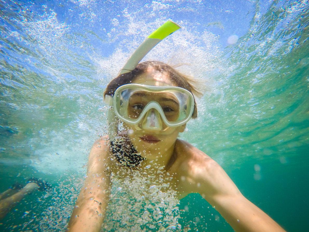 selfie underwater at seaside Copyright UMB-O