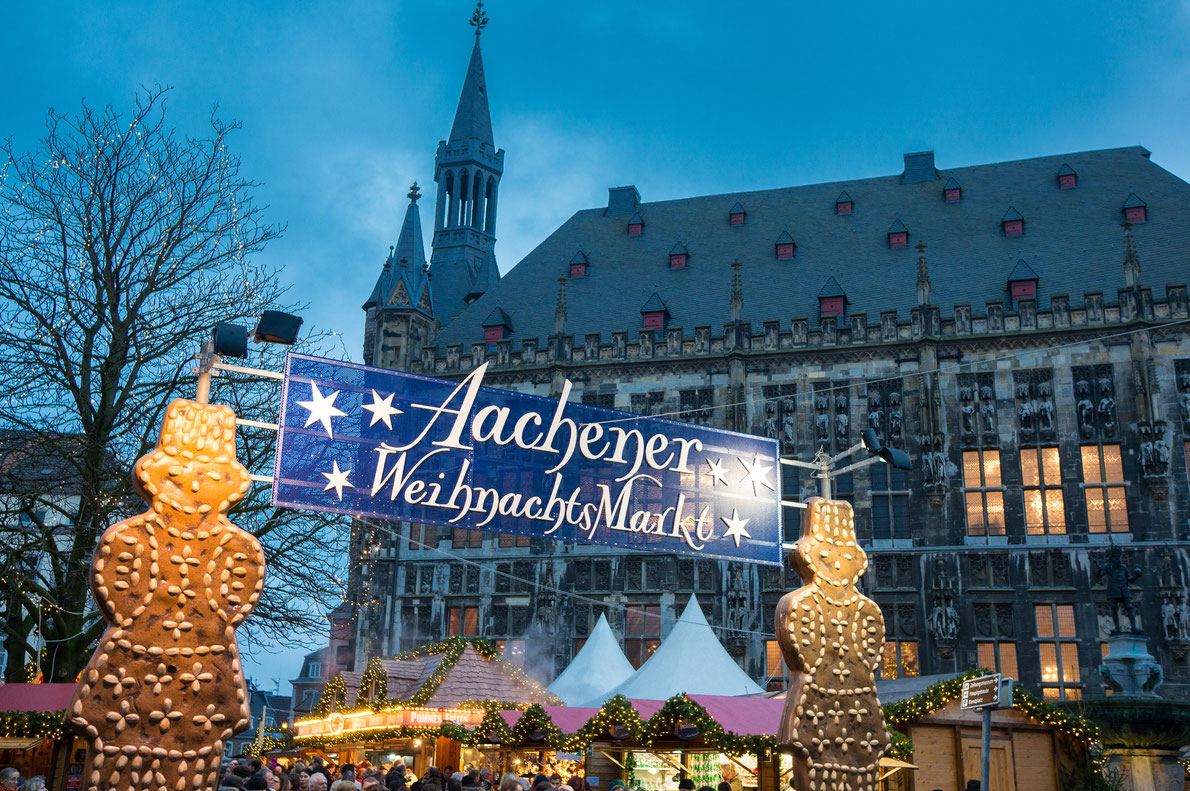 Christmas market in Aachen, Germany