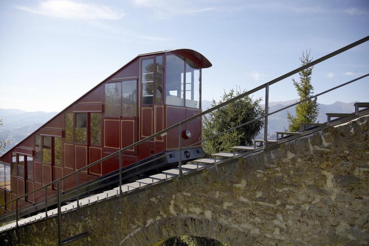 Monte Bré funicular Lugano- European Best Destinations