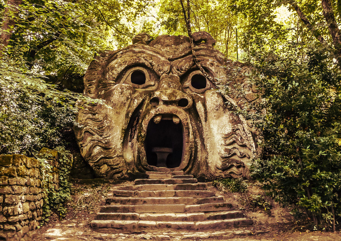 Bomarzo park of the monsters  - Best destinations for Halloween in Europe - Copyright canadastock