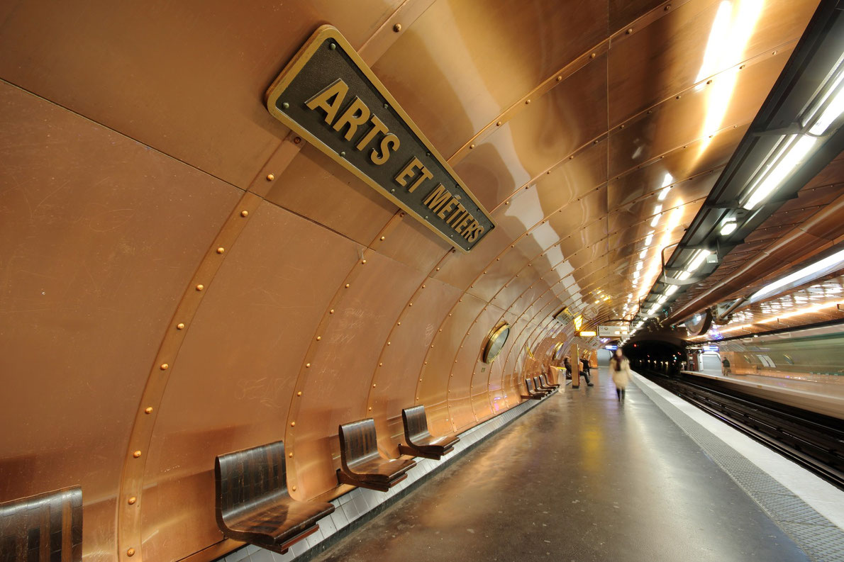 Best subway stations in Europe - Arts et métiers European Best Destinations - Copyright Mariontxa