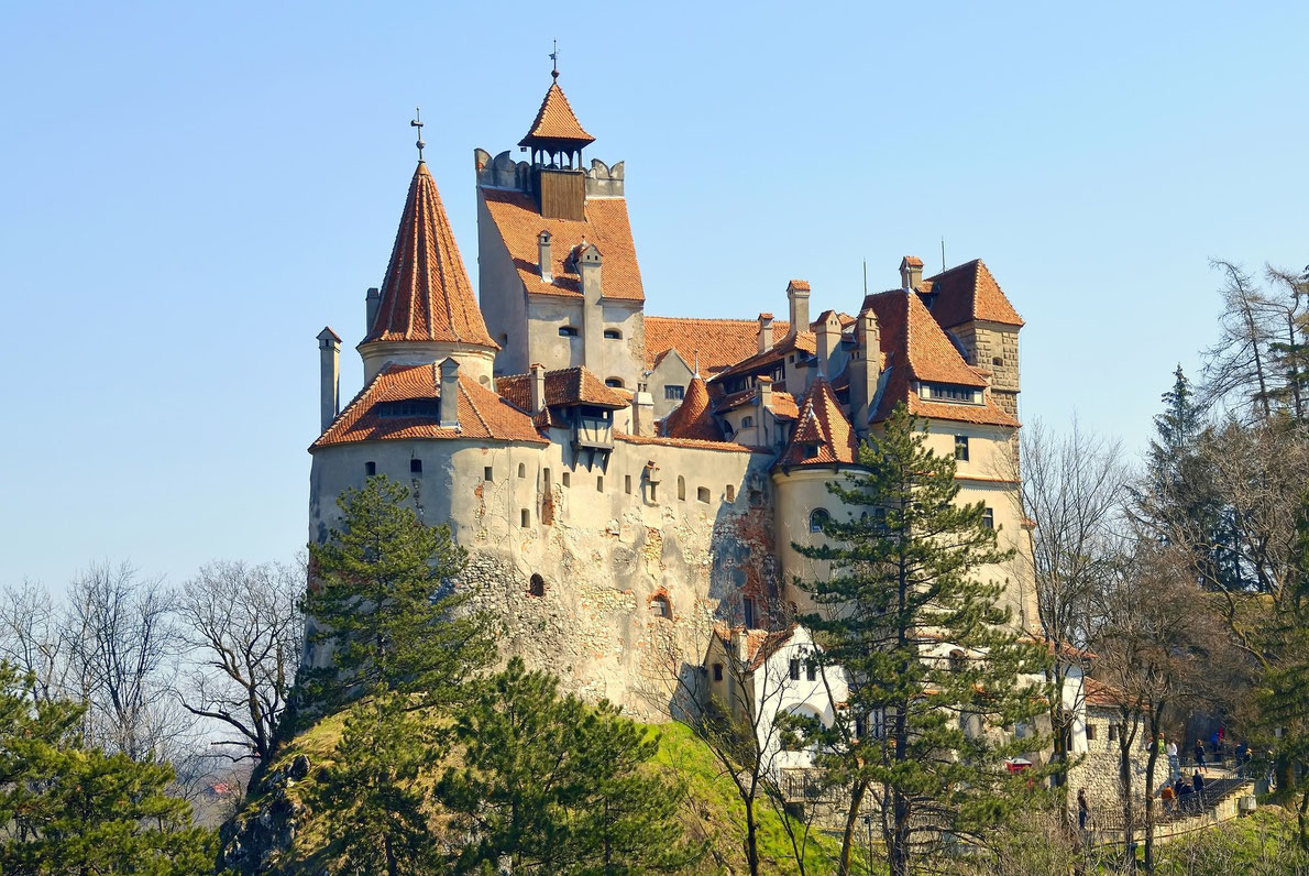 bran castle draculas castle best castles in europe - Castle