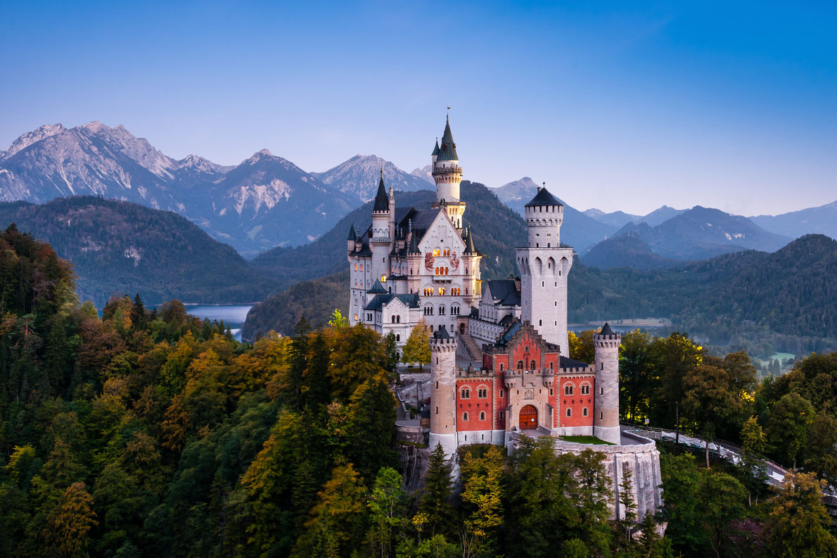 Neuschwanstein Castle Bavaria Germany - Best Castles in Europe