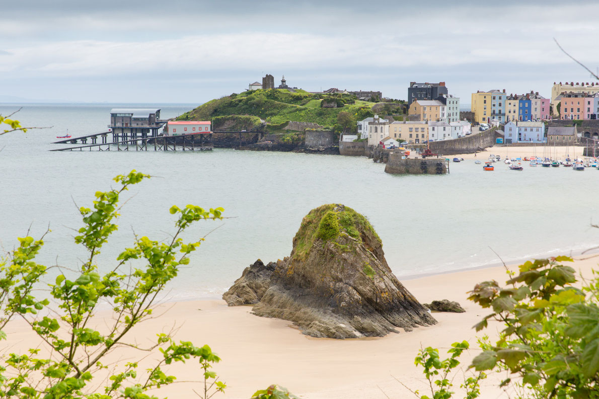 Top Beaches in Europe - Tenby Harbour Beach
