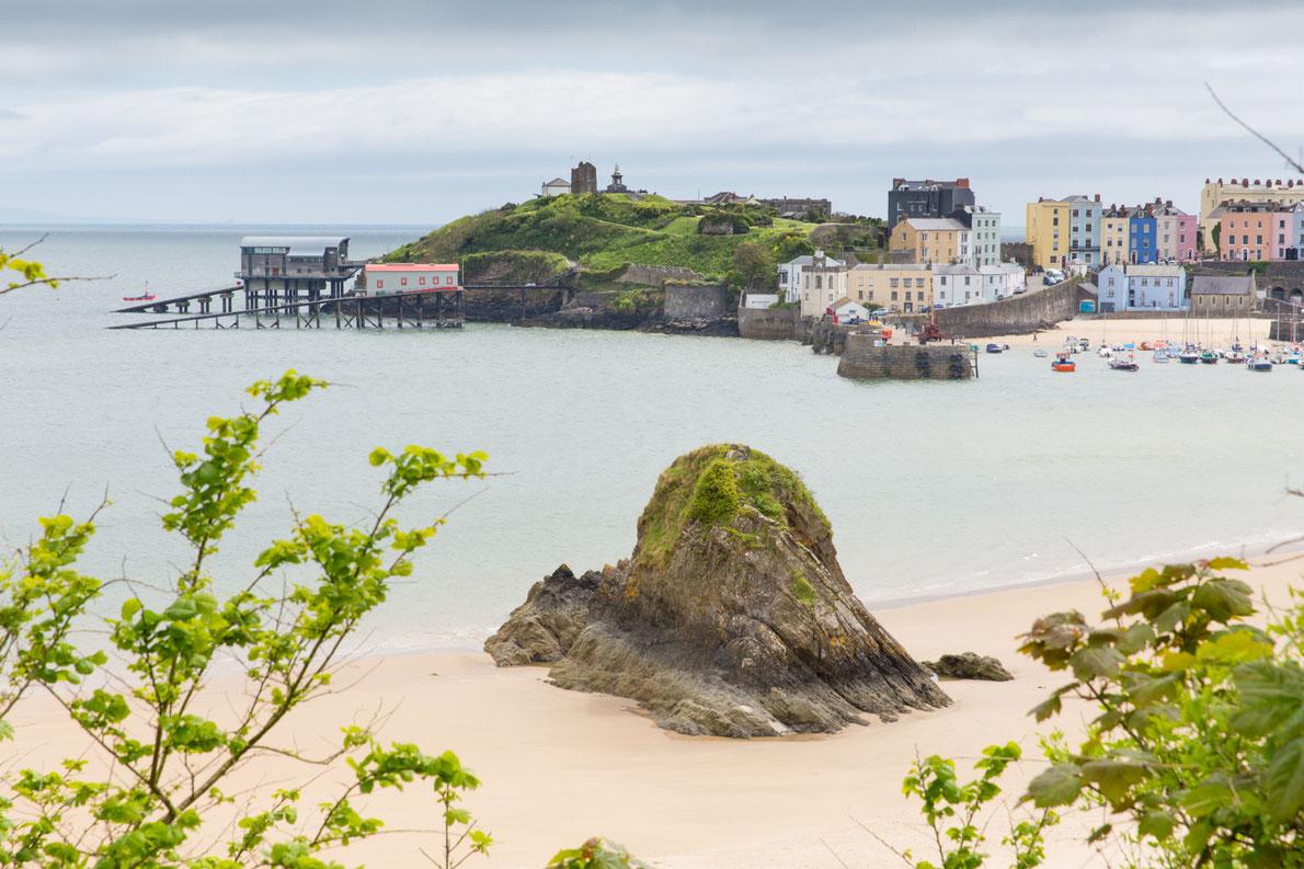 Top Beaches in Europe - Tenby Harbour Beach - European Best Destinations