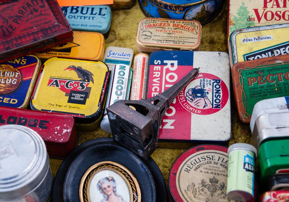 Best Flea Markets in Europe - Paris St Ouen Flea Market Copyright Elena Dijour - European Best Destinations
