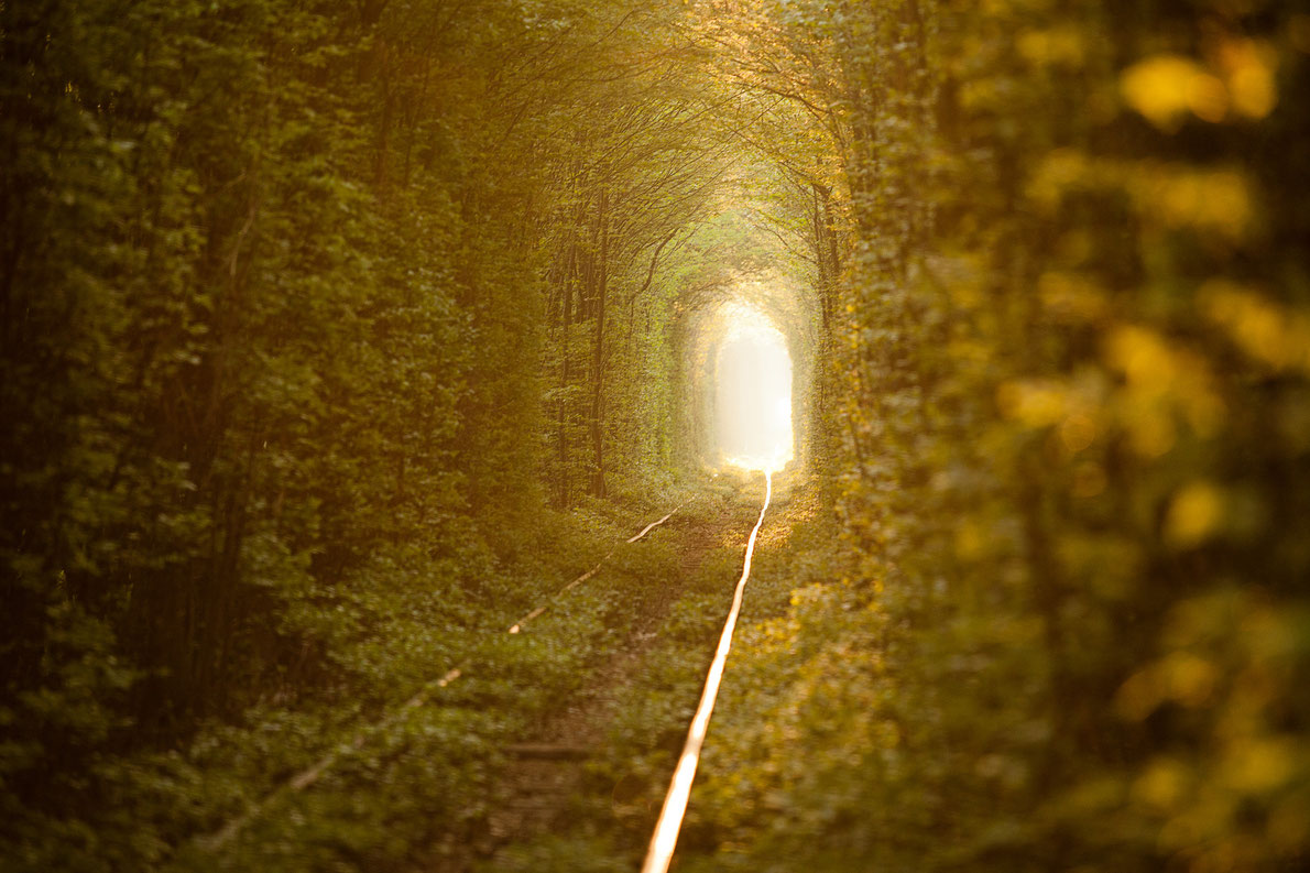 Best abandoned places in Europe - Tunnel of Love - European Best Destinations - Copyright  Alexander Ishchenko