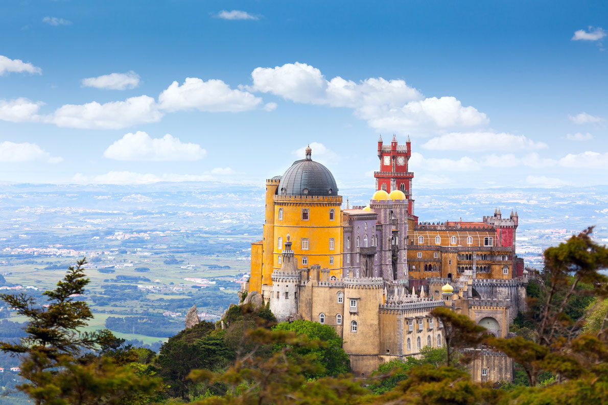 Palace da Pena - Sintra, Lisboa, Portugal - Best castles in Europe
