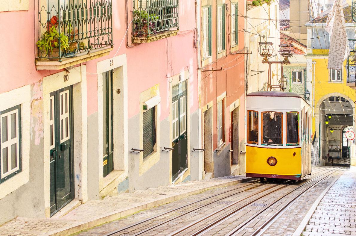 Gloria Funicular Lisbon