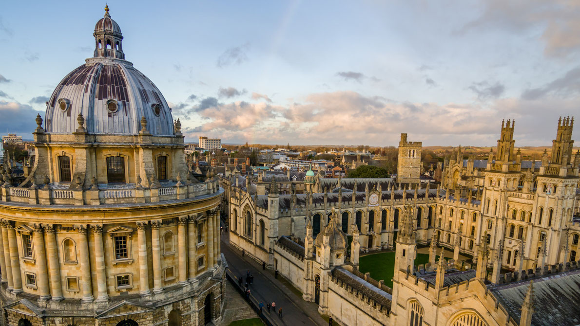 Oxford Romantic Destinations in Europe - Copyright atiger - European Best Destinations