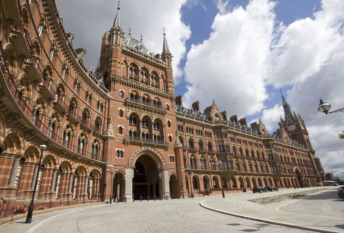 Best railway stations in Europe - Saint Pancras Station Copyrigth  jan kranendonk - European Best Destinations