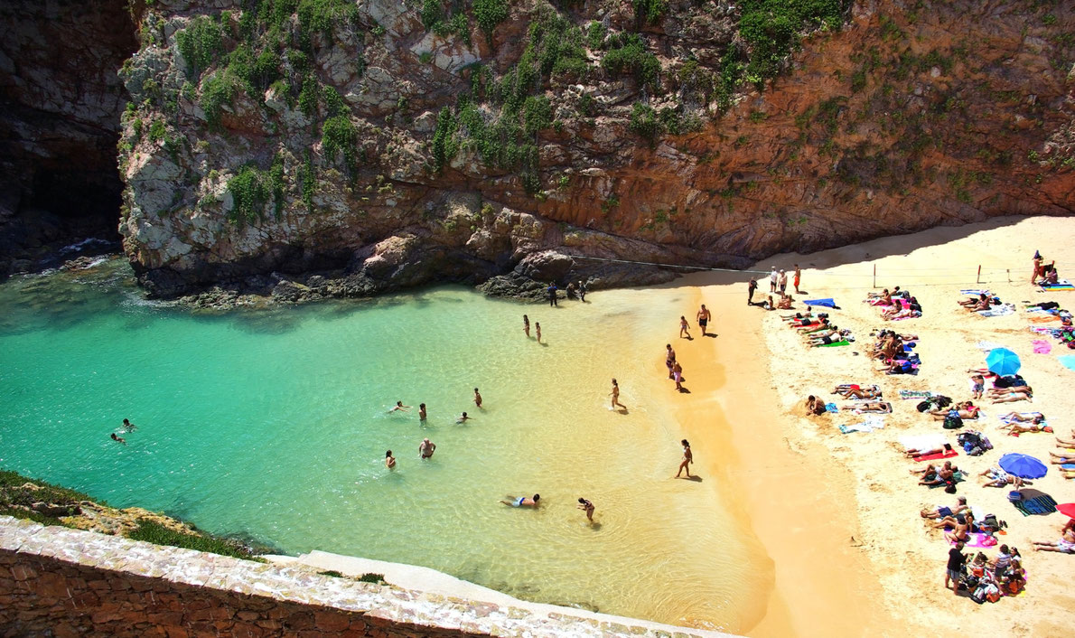 Best beach in Europe Berlanga Island in Portugal Copyright inacio pires