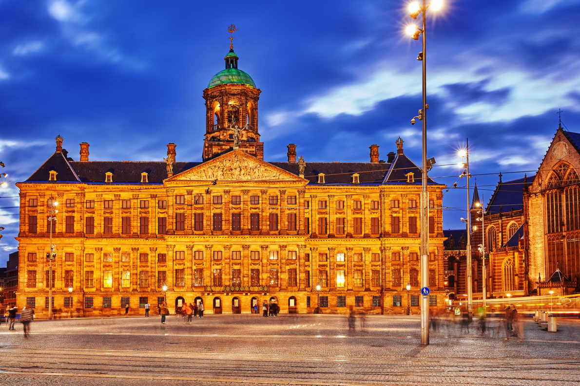 Royal Palaces in Europe -  Royal Palace of Amsterdam - Copyright Brian Kinney - European Best Destinations