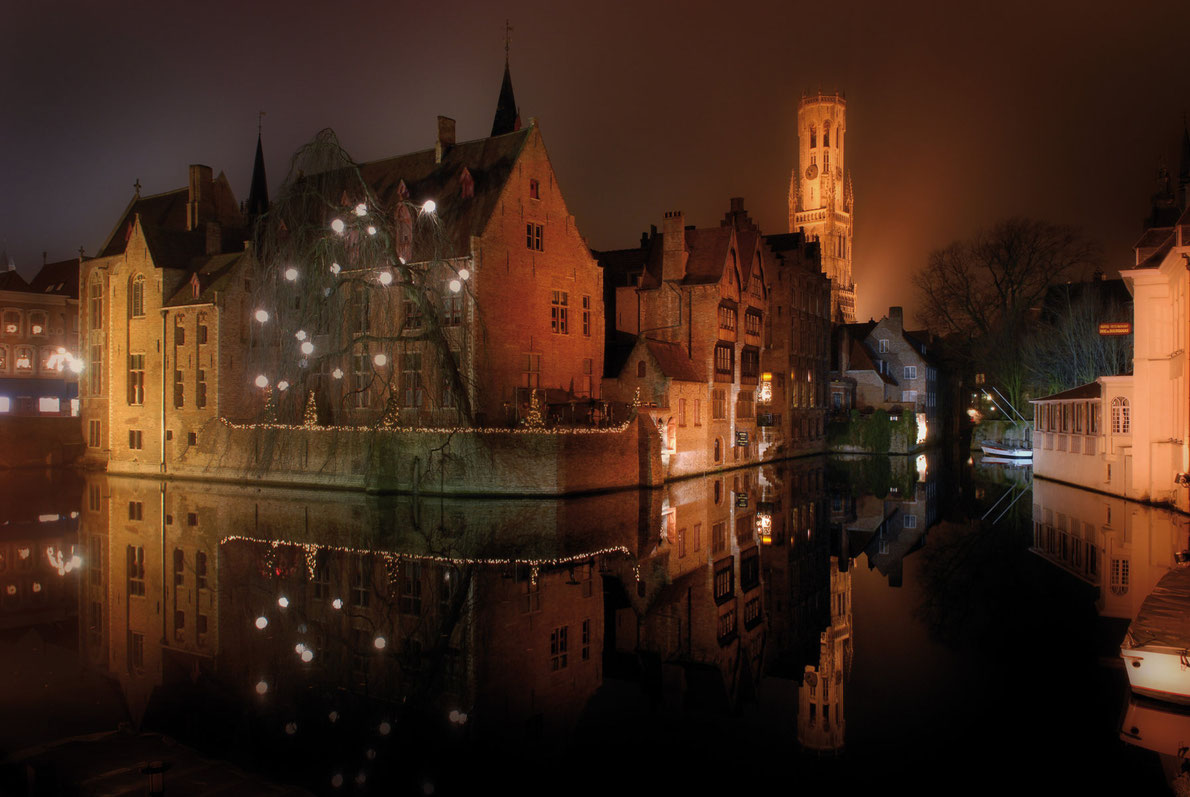 Bruges- Best destinations for Halloween in Europe - Copyright  Brugge Toerisme