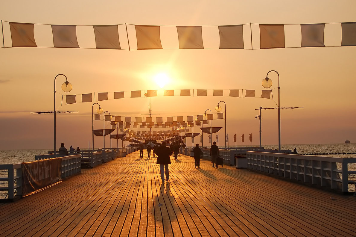 Best piers in Europe - Sopot Pier in Poland - Copyright PHOTOCREO Michal Bednarek