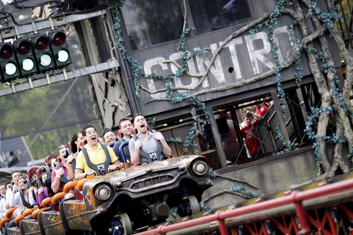 Alton Towers park -Best amusement parks in Europe