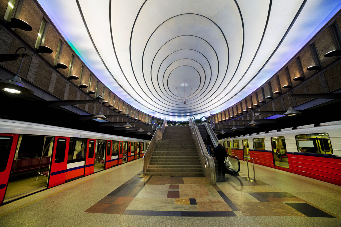 Best subway stations in Europe - Plac Wilsona -  European Best Destinations - copyright  Artur Bogacki
