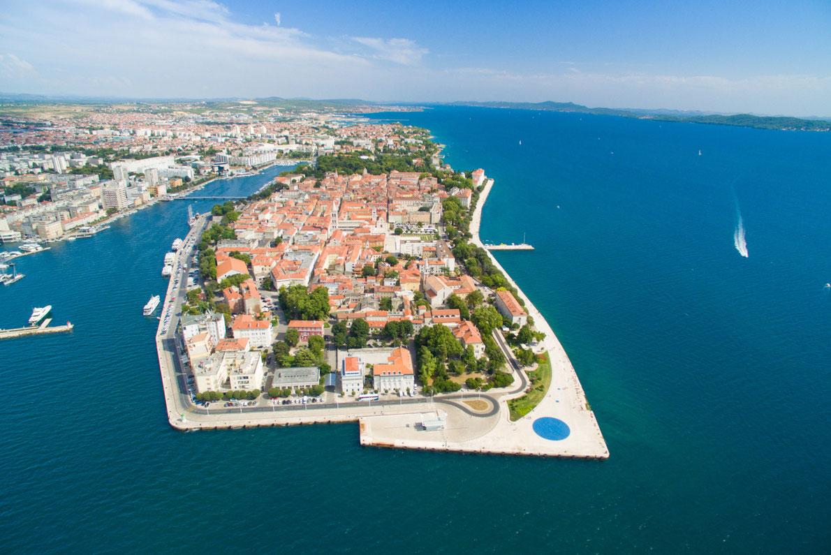 Zadar Best hidden gems in Europe - ZADAR panorama by paul prescott - European Best Destinations