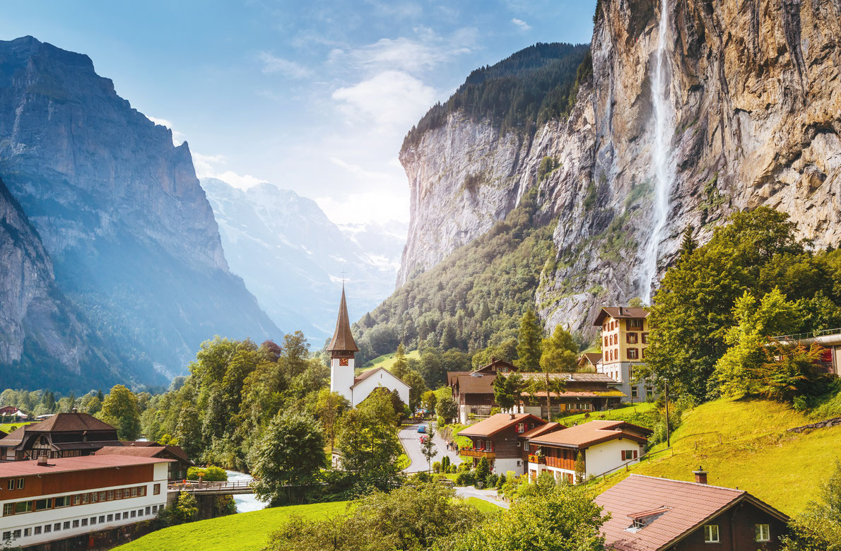 Lauterbrunnen valley - Best hidden gems in Europe - copyright Creative Travel Projects  - European Best Destinations