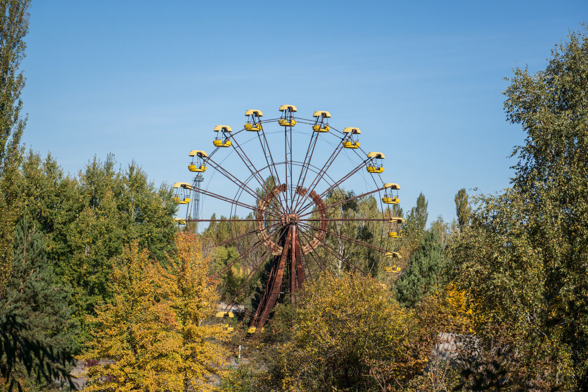Best abandoned places in Europe - Pripyiat Amusement park  - Copyright Eder - European Best Destinations