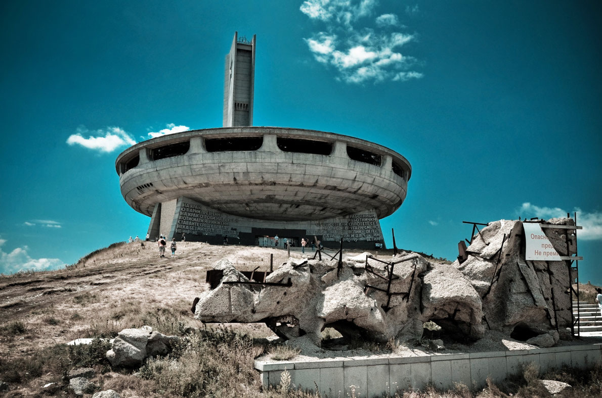 Best abandoned places in Europe - Copyright Christian Wilkinson - Buzludzha Communist Headquarters - European Best Destinations