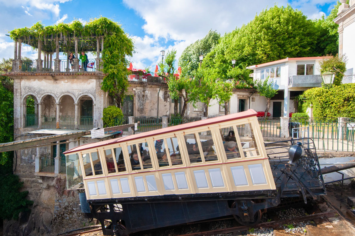 Bom Jesus funicular - Best funiculars in Europe