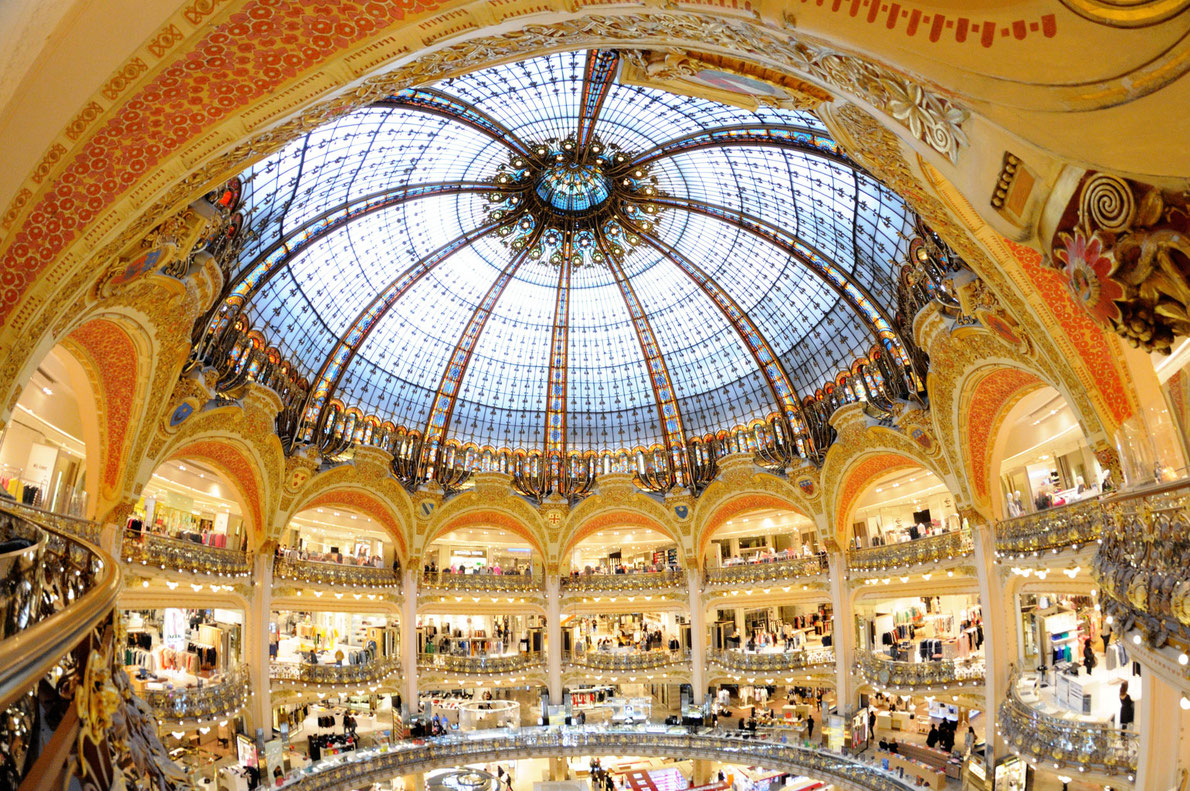 Best shopping centers in Europe - Galeries Lafayette Copyright Christian Bertrand - European Best Destinations