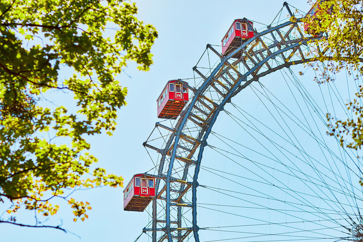 Prater Vienna Ferris Wheel - Best amusement parks in Europe