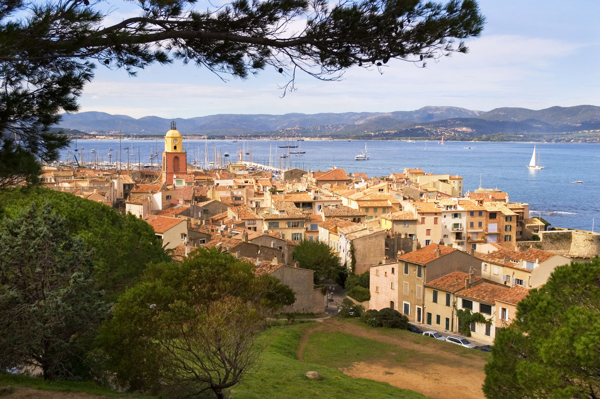 Saint Tropez Romantic Destinations in Europe - Copyright John James - European Best Destinations