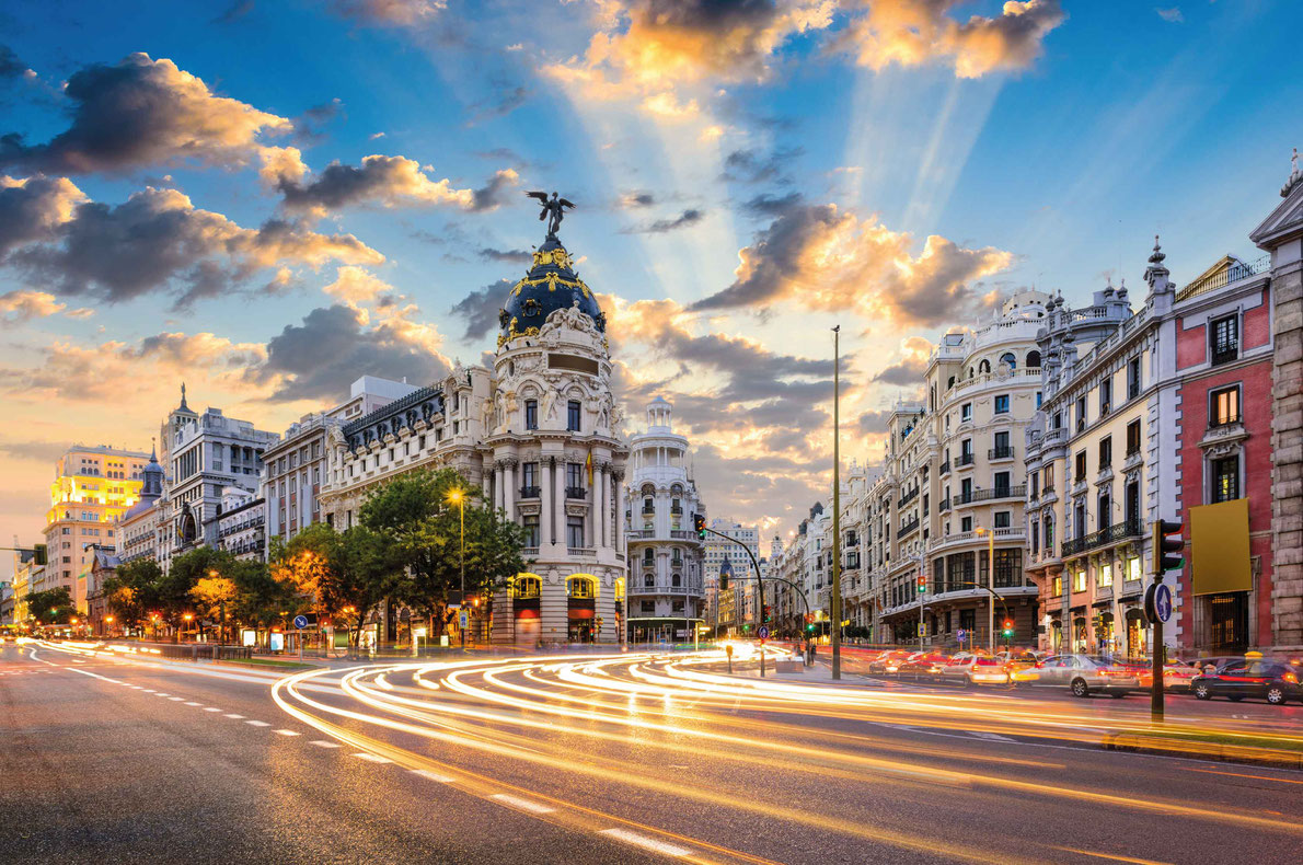 Madrid - Best Erasmus destinations in Europe - Copyright Sean Pavone - European Best destinations